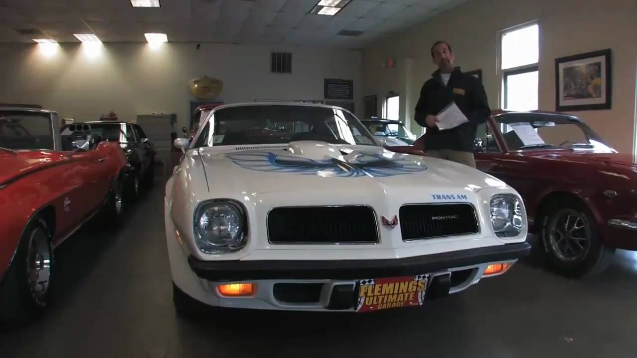 1974 Pontiac Trans Am 400 for sale with test drive, driving sounds, and  walk through video