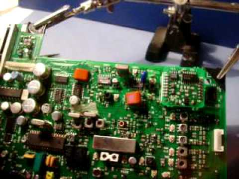 Sony Sw77 Capacitor Replacement Part 1 Youtube