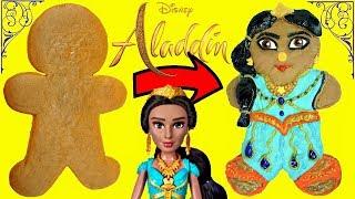Aladdin 2019 Jasmine Inspired Gingerbread Man Cookie Decoration