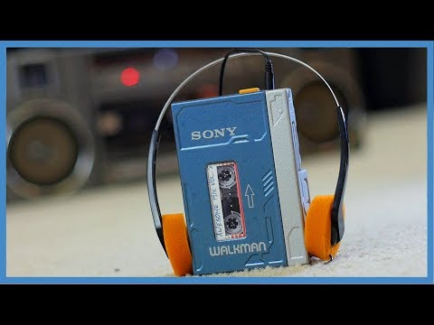 Star-Lord Cosplay - Sony Walkman Prop [Mod and Paint] ► JamesChats