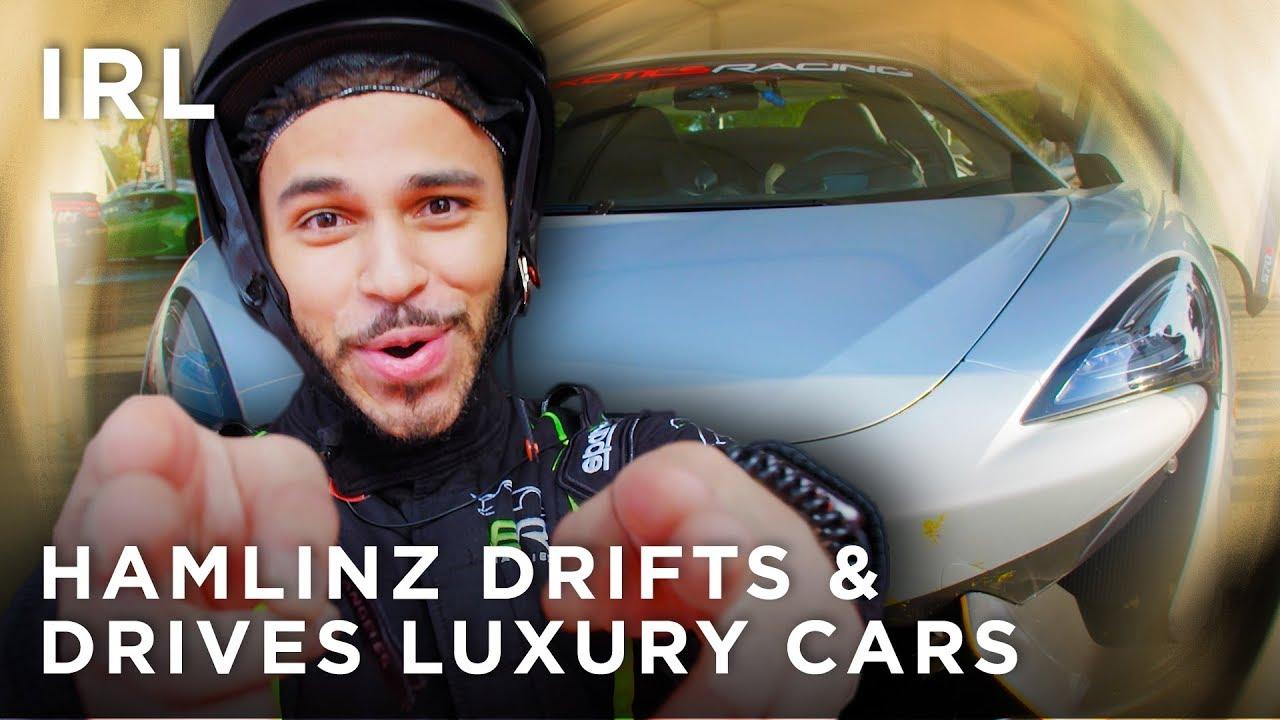 Hamlinz drifts & drives in luxury cars | IRL - HTC Gaming