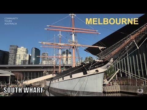MELBOURNE SOUTH WHARF CITY OF MELBOURNE TOUR AUSTRALIA