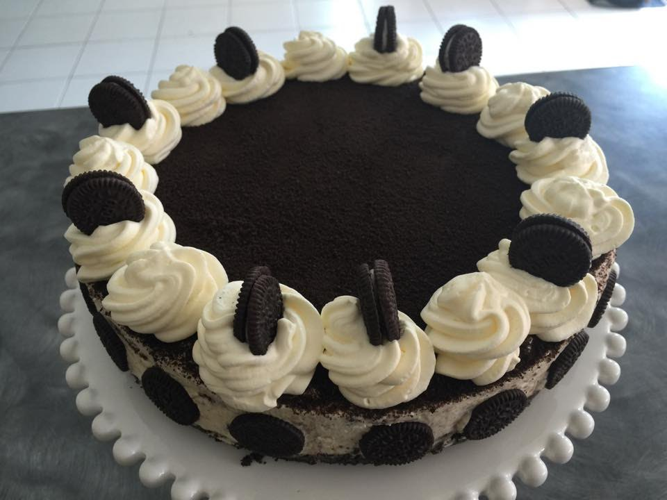 No bake Cookies and Cream Cheesecake Oreo Cheese Cake YouTube