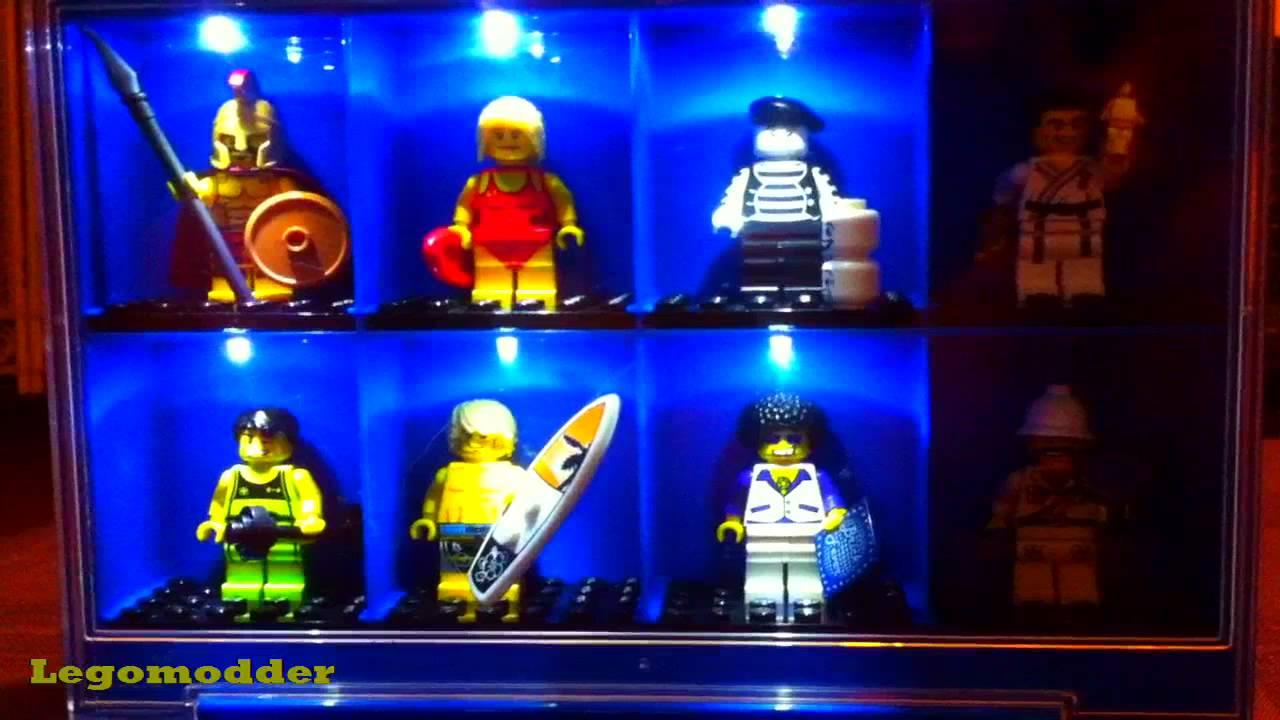 Lego Minifigures Display Case Mod