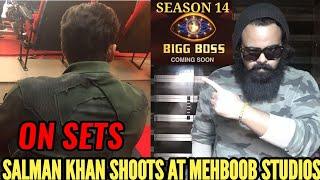 SALMAN KHAN'S BIGG BOSS SEASON 14 ON SETS SHOOT | MEHBOOB STUDIO | FIRST LOOK