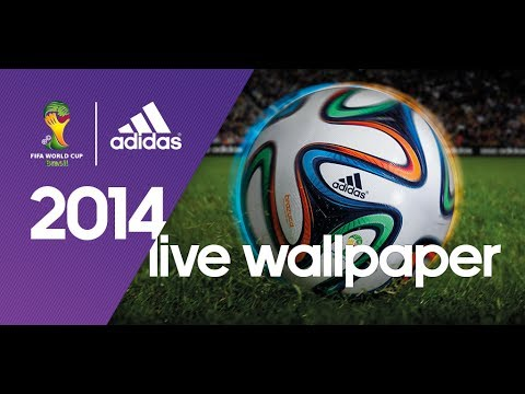 The official adidas 2014 FIFA World Cup™ Live Wallpaper