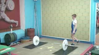 Ксенофонтов Матвей, 12 лет, вк 34 Рывок 30 кг