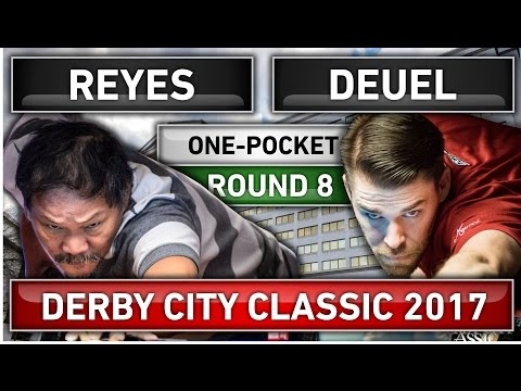 Efren Bata Reyes 2017 !!! v Corey Deuel ᴴᴰ 2017 Derby City Classic One-Pocket R8