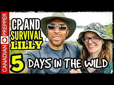 5 Days In The Wilderness With Survival Lilly: In The Woods | DAY 1