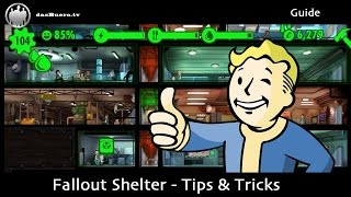 dasBuero.tv - Fallout Shelter (iOS / Android) Tips & Tricks - Guide