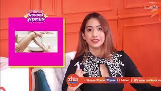 #ShopeeLiveMY Shopee Wonder Women