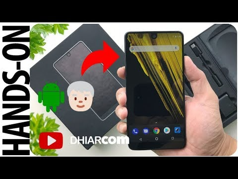 Unboxing Essential Phone Indonesia, Papanya Android?