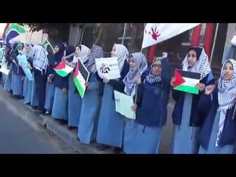 Joburg Muslim School Gaza Protest