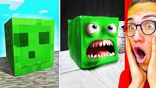 MINECRAFT vs. REAL LIFE CHALLENGE!