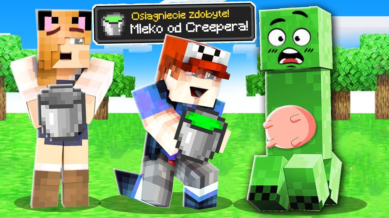 Minecraft, Ale MOŻEMY WYDOIĆ WSZYSTKIE MOBY | Vito i Bella