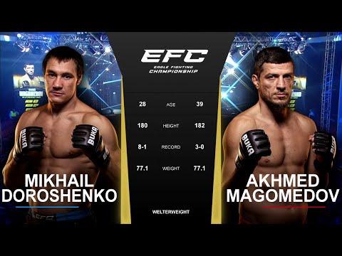Финиш слэмом| EFC 42: Ахмед Магомедов - Михаил Дорошенко