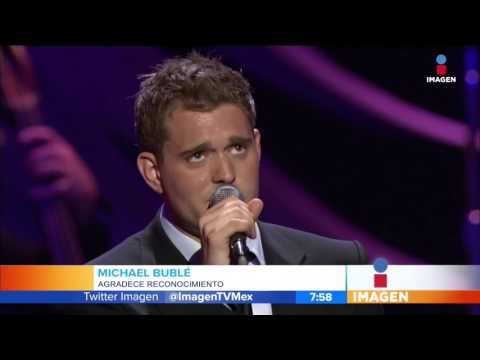 Michael Bublé es premiado en Ottawa | Imagen Entretenimiento