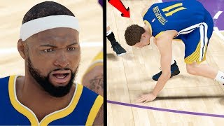 MOST SERIOUS GAME of the PLAYOFFS! SNAPPED KLAY ANKLES! NBA 2k19 My CAREER Ep. 64