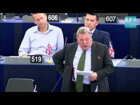 The EU will quickly discover that an economic blitzkrieg is a double-edged sword - David Coburn MEP