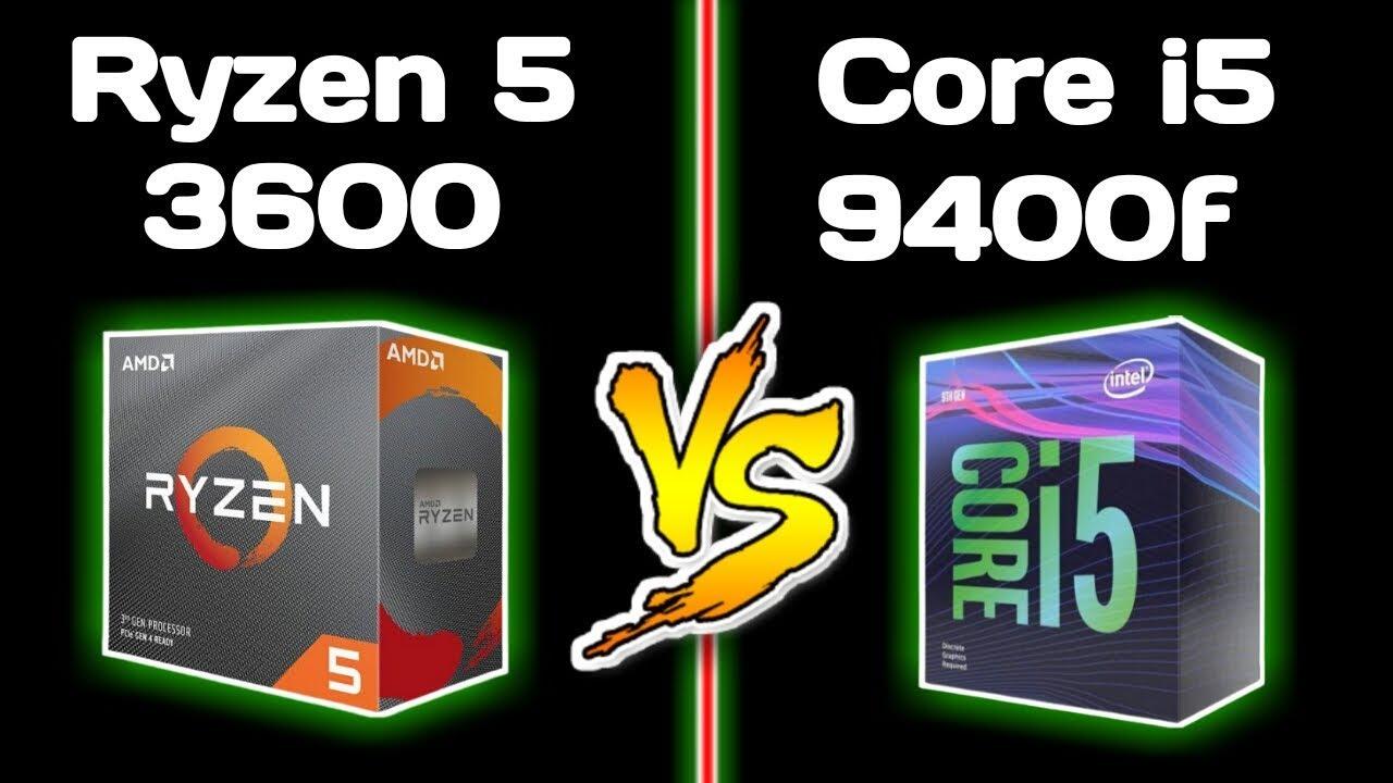 Ryzen 5 3600 vs Core i5 9400f Benchmarks | AMD vs Intel: Best budget Gaming CPU 2019!