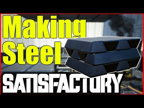 Satisfactory Ep 1 Gameplay    Making Steel thumbnail