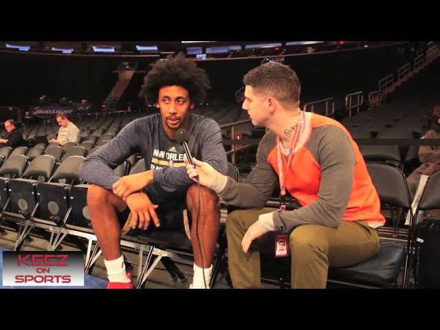 New Orleans Pelicans guard Josh Childress talks kicks with Keez on Sports Travel Video