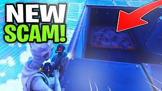 *NEW SCAM* Insane Room Trap Scam! (Scammer Gets Exposed) Fortnite Save The World