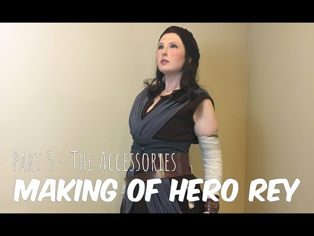 ☆[Build Log] Hero Rey Part 5 - The Accessories☆