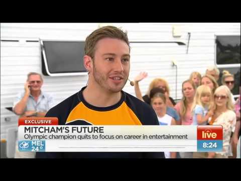 Matthew Mitcham retires from diving - Announced live on Channel 7 Sunrise Program