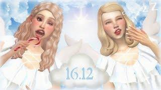 The Sims 4 Świątecznie z Oską #16 - Ubieramy choinkę z dzieciakami