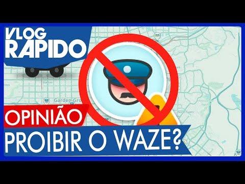 """Projeto de lei quer proibir o alerta """"anti-Blitz"""" em apps de trânsito/GPS (Waze) - Vlog Rápido #134"""