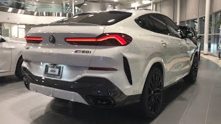 2020 BMW X6 M50i xDrive Alpine White | In-Depth Video Walk Around
