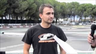 Entrevista a Victor Peláez - 4ª Nacional 1/10 pista gas Getafe 2013