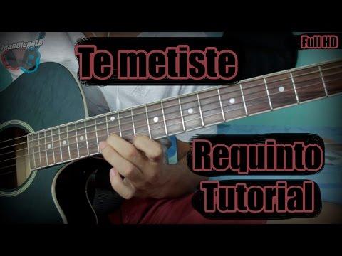 Te metiste - Ariel Camacho - Requinto tutorial (HD)