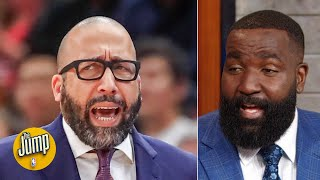 He's the problem! Not Coach Fiz! - Kendrick Perkins on Knicks prez Steve Mills | The Jump
