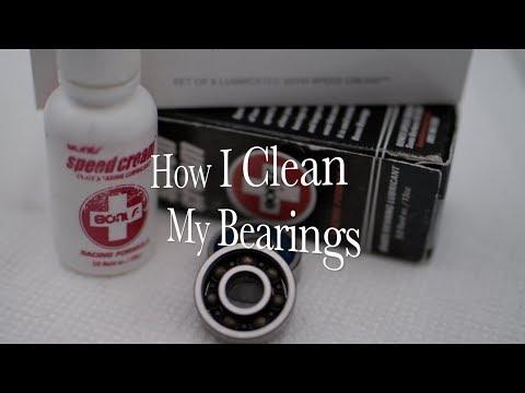 How I Clean My Skateboard Bearings