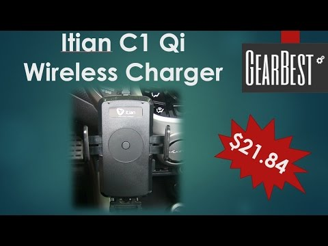 Itian C1 Qi Wireless Car Charger from GearBest