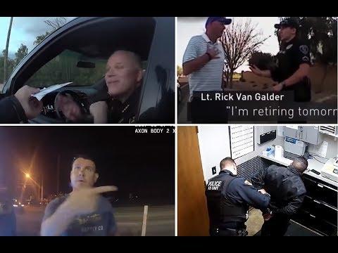 Cops arresting Cops