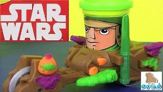 Пластилин для Детей! Star Wars Can Heads Звездные Войны! Play Doh Пластилин Плей До на Русском