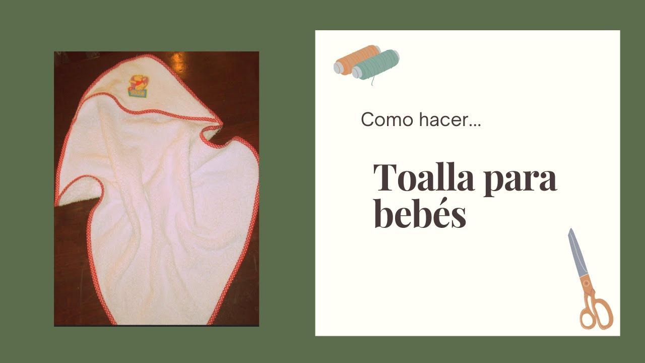 Toalla de bebe con capucha facilisima en simples pasos - YouTube