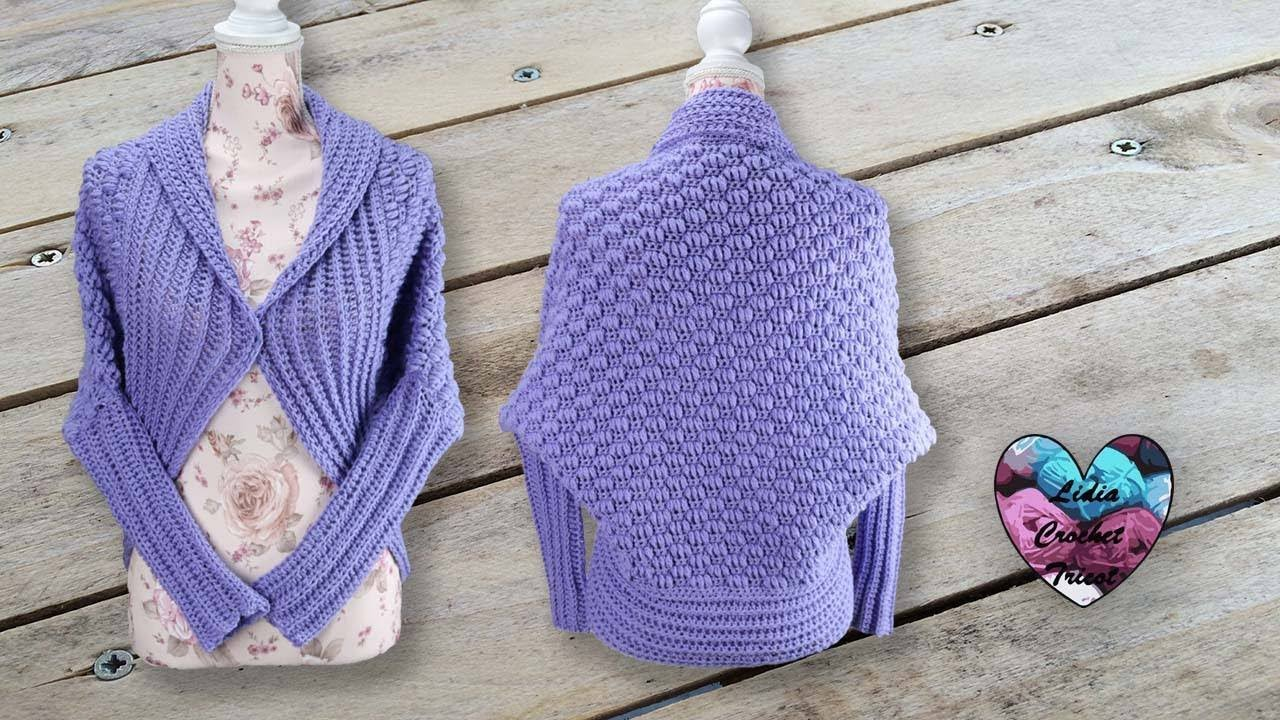 Gilet Cocooning Toutes Tailles By Lidia Crochet Tricot