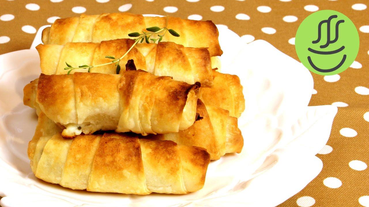 Unlu Çıtır Yufka Böreği Nasıl Yapılır Videosu