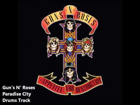 Gun's N' Roses Paradise City Drums Track