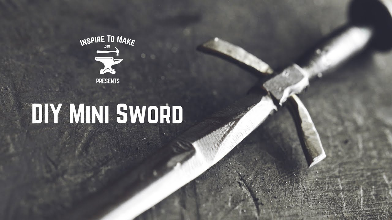 DIY Mini Sword - YouTube