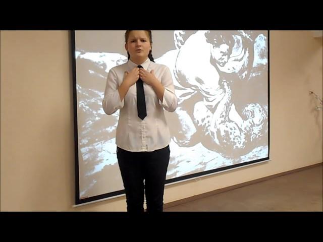 Изображение предпросмотра прочтения – МарияШубарина читает отрывок изпроизведения «Мцыри» М.Ю.Лермонтова