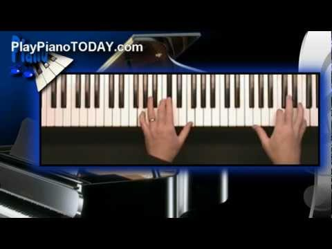 Piano Lessons - The three Diminished 7th chords in all of music...