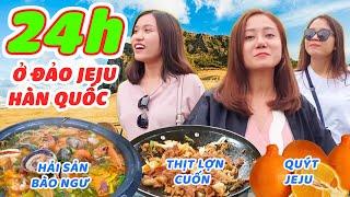 24h ăn chơi sấp mặt ở đảo Jeju Hàn Quốc cùng bộ 3 HÔM NĂY ĂN GÌ !
