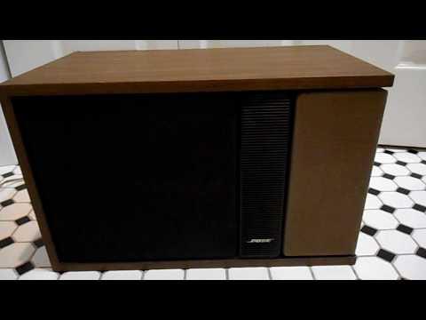 Bose 301 Series II  Reflecting Spearkers Brown & Black