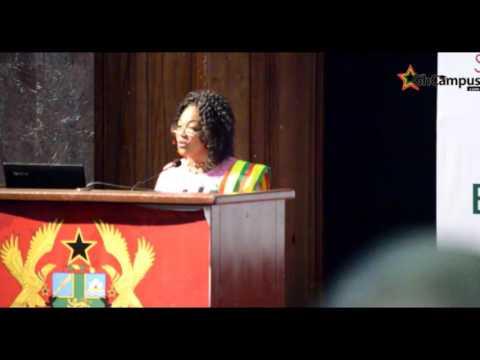 Otiko Djaba's Inspiring Address At 2017 Ghana Diaspora Homecoming Summit