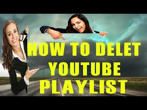 How To Delete Or Add Youtube Playlists in Youtube Channel How To Edit Or Rename Playlist On Youtube
